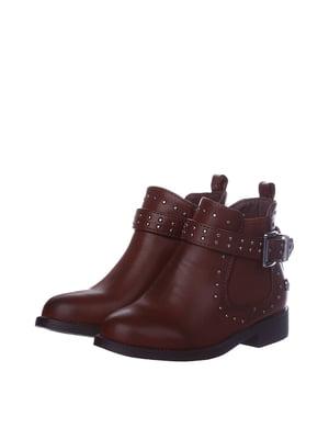 Черевики коричневі | 5579518