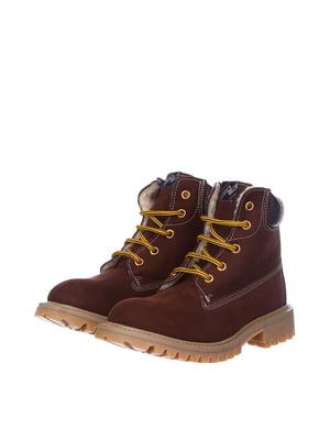 Черевики коричневі | 5579544