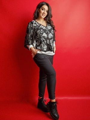 Костюм: блуза и брюки   5579684