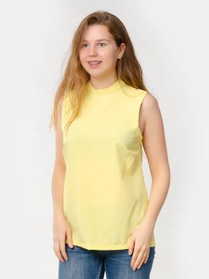 Блуза-топ сонячного кольору | 5579692