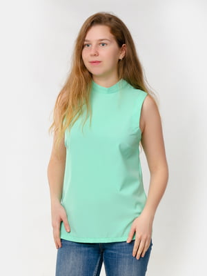 Блуза-топ мятного цвета | 5579695