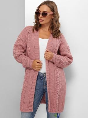 Кардиган рожевий | 5579812