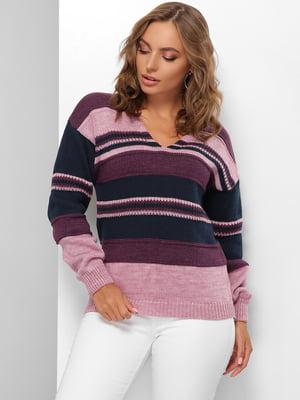 Пуловер в смужку | 5579845