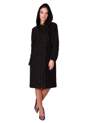 Пальто темно-коричневе | 5579964