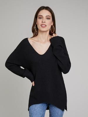 Пуловер чорний | 5580239