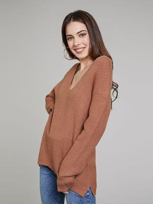 Пуловер карамельного цвета | 5580240