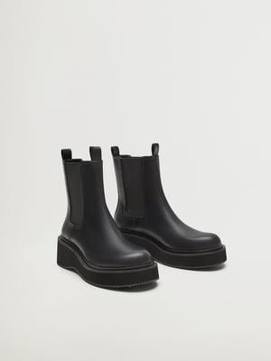 Ботинки черные | 5580112