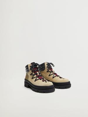 Ботинки бежевые | 5580135