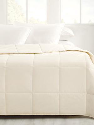 Одеяло стеганое шерстяное (155х215 см) | 5582616