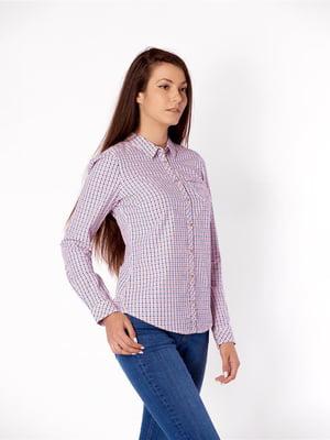 Рубашка сиреневого цвета | 5580405