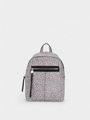 Рюкзак в цветочный принт | 5582065