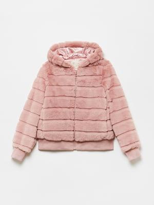 Полушубок розовый | 5582896