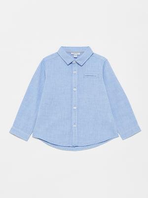 Рубашка голубая | 5582995