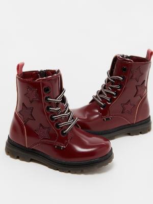 Ботинки красные | 5582928
