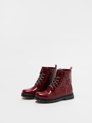 Ботинки красные | 5582930