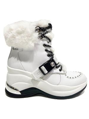 Ботинки белые   5561870