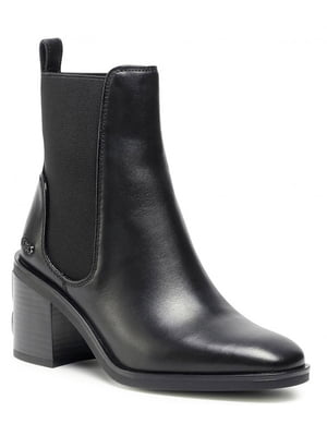 Ботинки черные   5580460