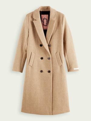 Пальто бежевое | 5580562