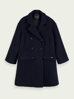Пальто синее | 5580565