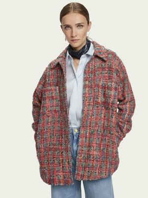 Куртка-жакет в клітинку | 5580571