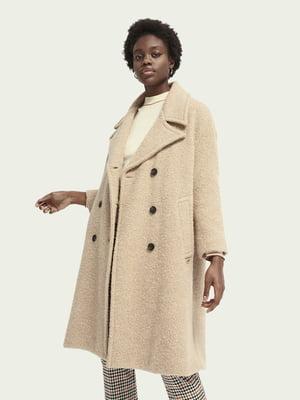 Пальто бежевое | 5580612