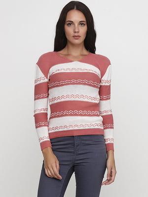 Пуловер в смужку | 5584143
