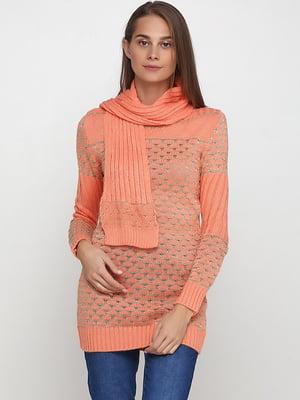 Комплект: туніка і шарф   5584387