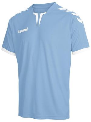 Футболка голубая | 5584447