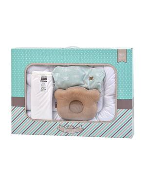 Набір: ковдра, подушка і наматрацник | 5584391