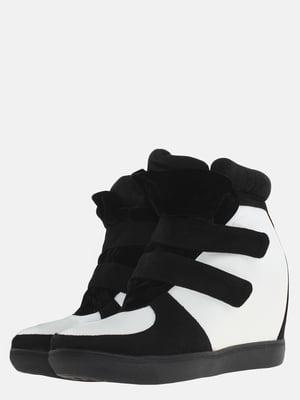 Снікерси біло-чорні | 5580816