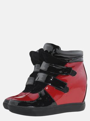 Снікерси червоно-чорні | 5580817