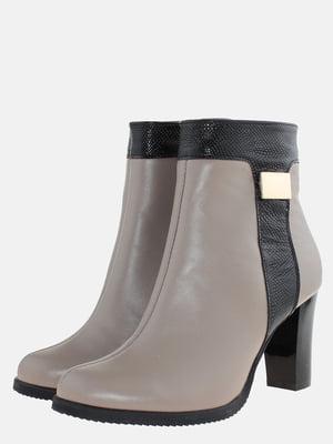 Ботинки бежевые | 5577908