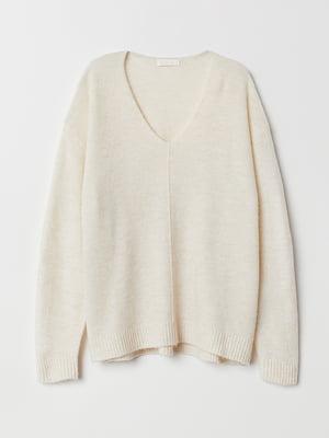 Пуловер бежевий | 5551839