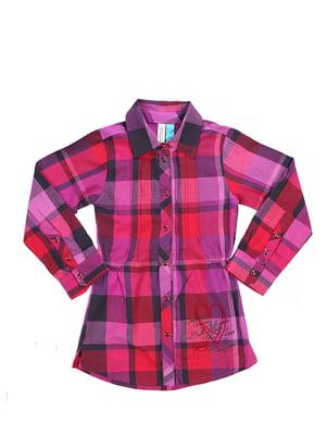 Рубашки-туника клетчатая | 2228481