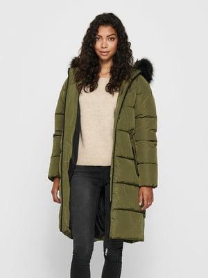 Пальто оливкового цвета | 5580726