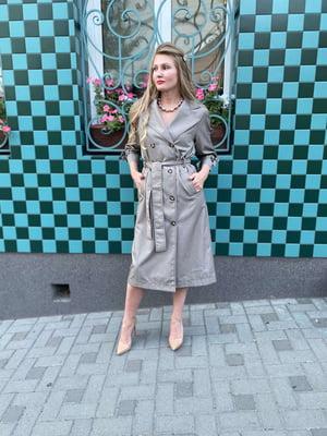 Сукня оливкового кольору | 5579326