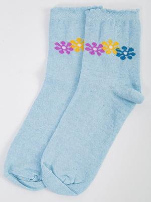 Шкарпетки блакитні  | 5584909