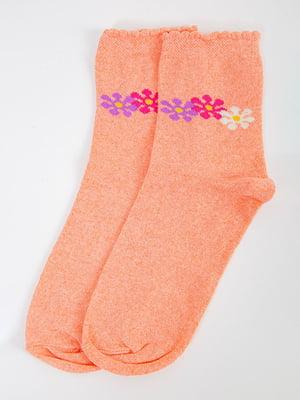 Носки персикового цвета | 5584911