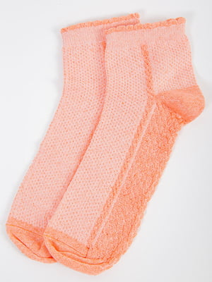Носки персикового цвета | 5584915