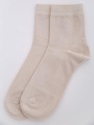 Носки бежевые | 5584942