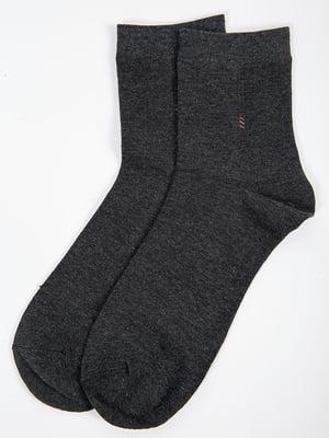 Носки темно-серые | 5584960