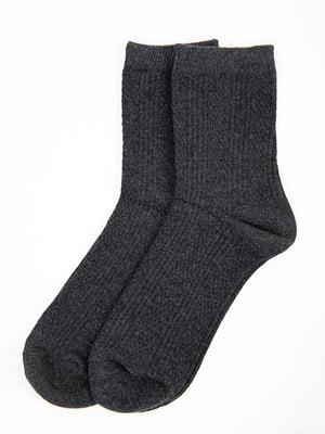 Носки темно-серые | 5584968