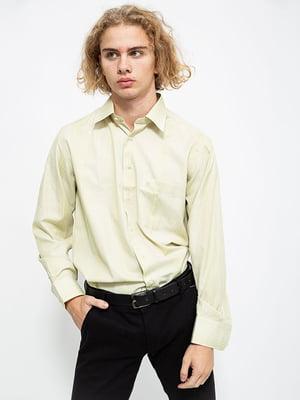 Рубашка оливкового цвета | 5584996