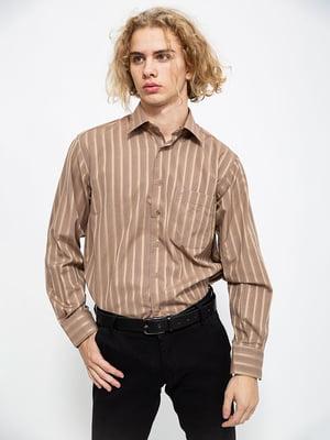 Сорочка коричнева  | 5585005