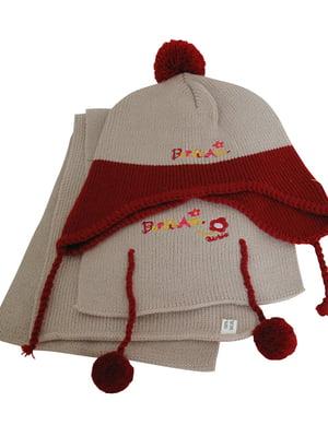 Комплект: шапка і шарф | 5585137