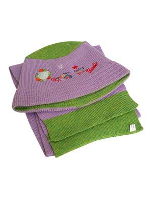 Комплект: шапка і шарф | 5585139