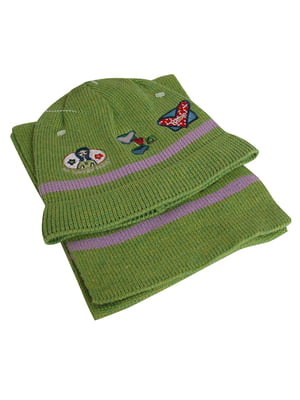 Комплект: шапка і шарф | 5585140