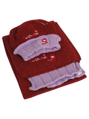 Комплект: шапка і шарф | 5585141