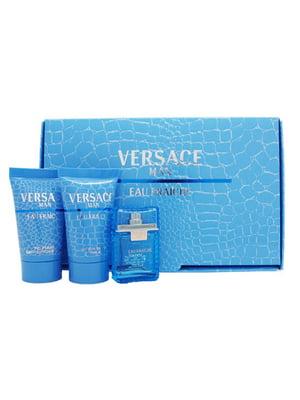 Набір подарунковий Versace Eau Fraiche (5 мл + 25 мл + 25 мл, 3 предмети) - Versace - 5584796