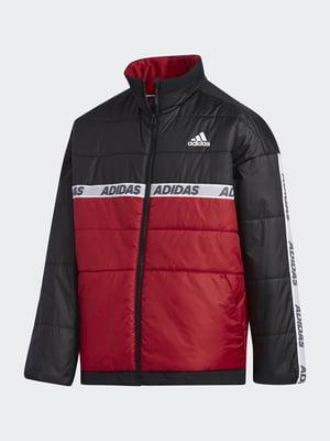 Куртка триколірна з логотипом   5585153